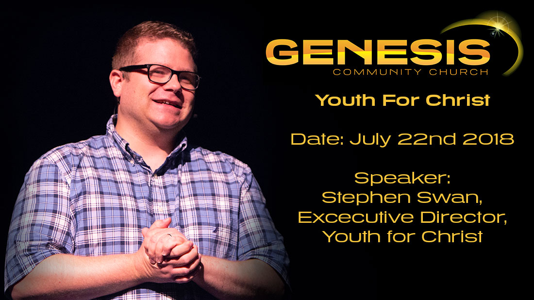 Youth for Christ - Stephen Swan