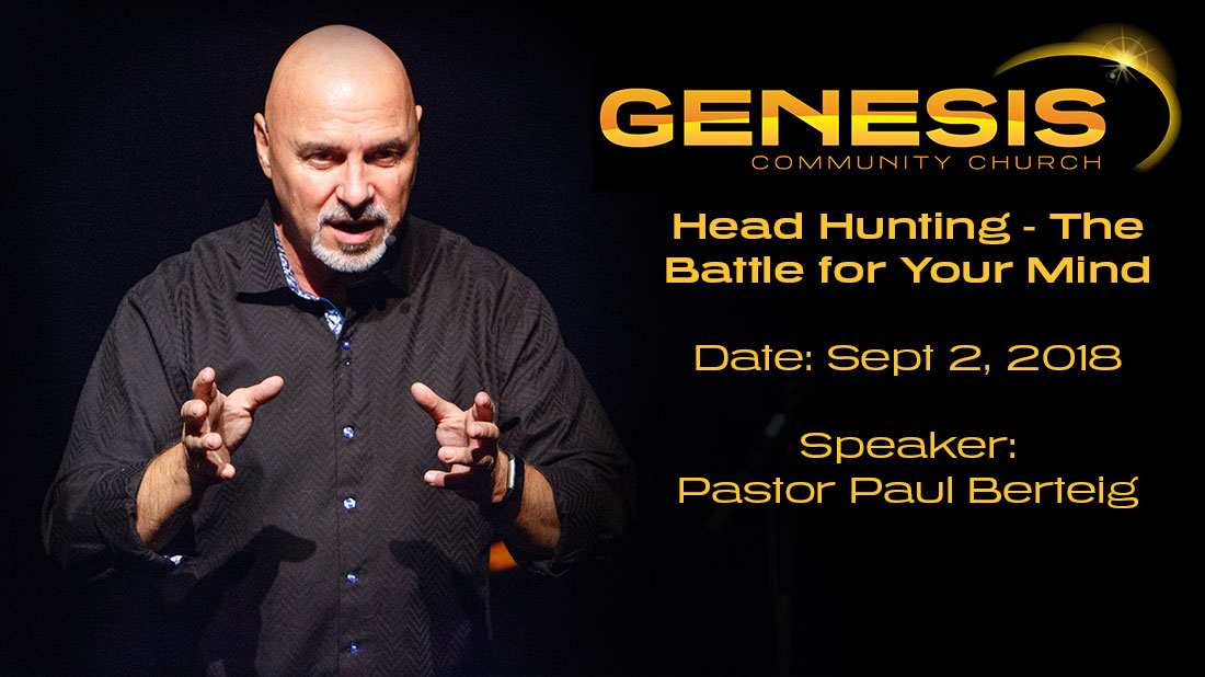 Head hunting - the battle for your mind - Paul Berteig